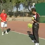 Beginner Tennis : Beginner Tennis: Drop & Hit Drill