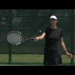 How to Hit Basic Tennis Shots : Troubleshooting Tennis Shots: If Forehand Topspin Goes Into Net