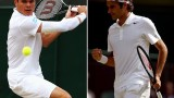 Roger Federer vs Milos Raonic Wimbledon 2014 SF Highlights HD