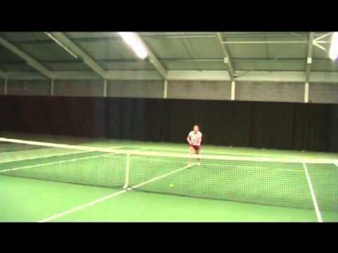 college tennis recruitment video   Dominique de Wit
