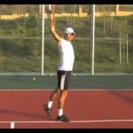 One Handed Backhand Progression – tennis lesson