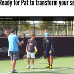 Get incredibly HEAVY tennis serve   Pat Rafter tennis serve techniques manual.