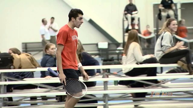 #22 Illinois Men's Tennis vs #16 Notre Dame Highlights 2/5/14