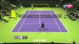 Tomas Berdych vs Ivo Karlovic atp Doha 2014 master 250-highlights