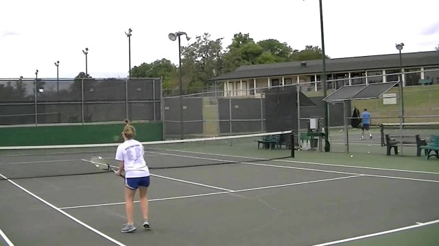 2014 Leigh Dubcak Tennis Highlights Video