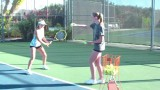 How to Hit a Backhand – Tennis