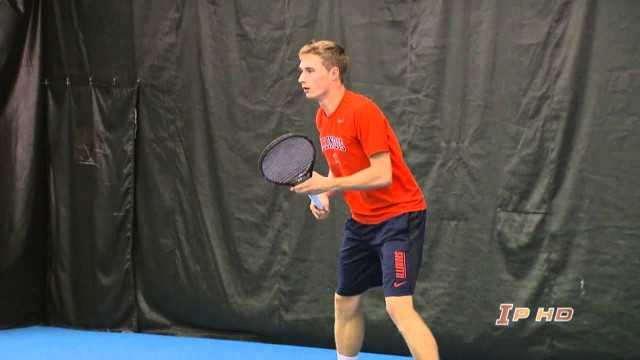 Illinois Men's Tennis vs Detroit Mercy Highlights 3/9