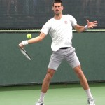 Novak Djokovic Forehand in Super Slow Motion – BNP Paribas Open 2013