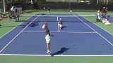 Tulane Men's Tennis Highlights vs. LSU