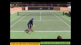 Drills For Developing Powerful Tennis Serves –  Topspin serve technique – develop unfair tennis