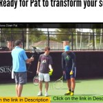 Improve Your Tennis Slice Serve With This Feel Drill –  Topspin serve technique – develop unfair