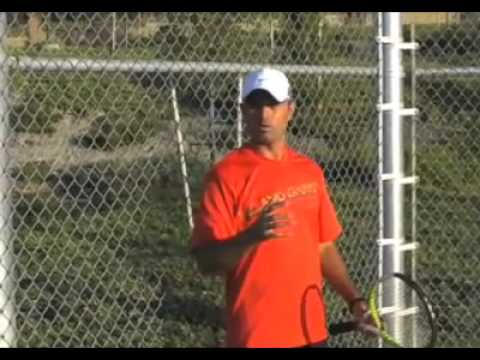 tennis forehand stroke – short backswing lesson