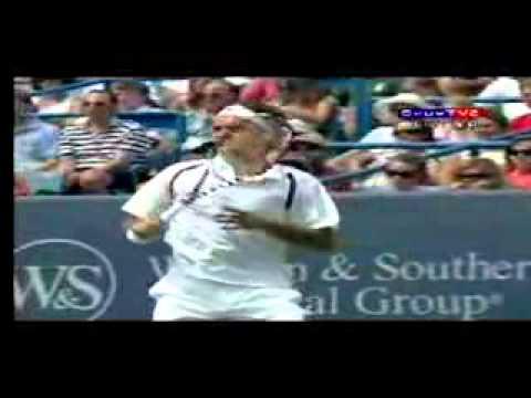 Video Tennis Technique Federer Djokovich Nadal Serve Forehand Backhand Return Top Spin Slice (2).flv