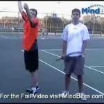 MindBites: Improve Your Tennis Serve:Basic Steps & Technique