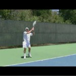 Tennis Forehand Groundstroke – Up The Line
