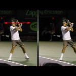 Video Tennis Technique Federer Djokovich Nadal Serve Forehand Backhand Return Top Spin Slice (5).flv