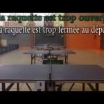 Le Top-spin au tennis de table : Analyse du comportement moteur entre débutant et Confirmé