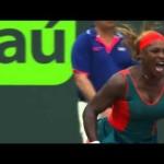 Sony Open Tennis Li vs S Williams Finals Highlights 3-29