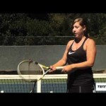Tennis Forehand- Instruction for improving power & topspin