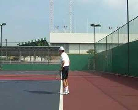 Topspin Tennis Serve Part III – Adding Power