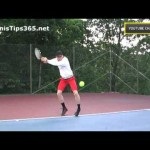 Forehand Tennis Lesson 5 – The Body Weight Transfer – right-handed