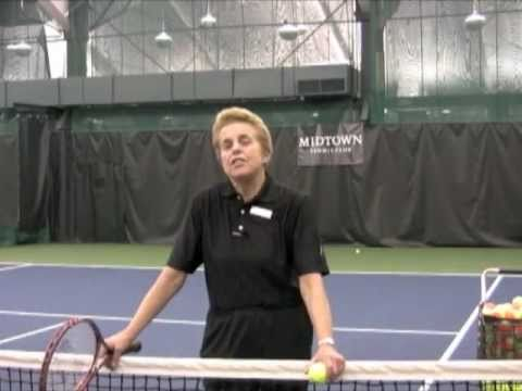 "Tennis Professional Tip ""Topspin"" Offer by Sue Schneider of Midtown Tennis Club"