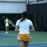 Lady Vol Tennis Highlights vs. Georgia Tech – 2.15.14