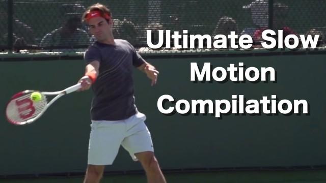 Roger Federer Ultimate Slow Motion Compilation – Forehand – Backhand – Serve – Volley – Overhead
