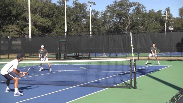 Men's Tennis Highlights vs. Jackson St.