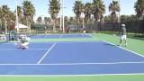 Tulane Men's Tennis Highlights vs. George Washington