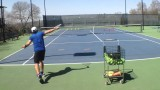 """""""My tennis slice is floaty, what can I do to help fix this shot?"""""""