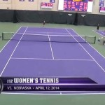 Women's Tennis – Nebraska Highlights (4/12/14)