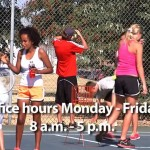 Summer Tennis Lessons Registration Now Open