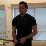 Tennis Forehand Rotational Power & Topspin drills by TennisFlex