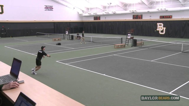 Baylor Tennis (M): Highlights vs. UL-L
