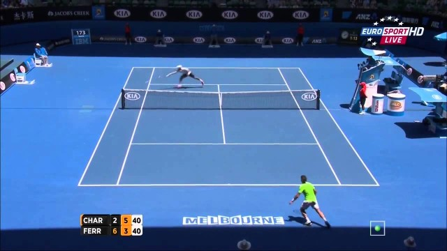 David Ferrer vs. Jérémy Chardy – Australian Open 2014 R3 Highlights [HD]