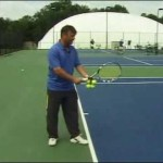The Basics On How To Serve A Tennis Ball Video