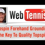 Tennis Topspin Forehand – 7 Points Of Grip Tension