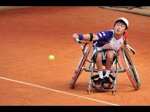 Wheelchair tennis highlights – London 2012 Paralympic Games