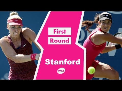 Ana Ivanovic vs Sabine Lisicki Stanford 2014 Highlights