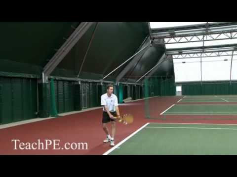 Tennis Drill – Top Spin Serve