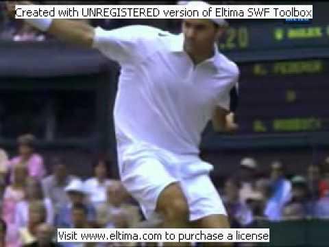 Video_ Tennis_ Technique Federer Djokovich Nadal Serve Forehand Backhand Return Top Spin Slice.avi
