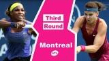 Serena Williams vs Lucie Safarova Montreal 2014 Highlights