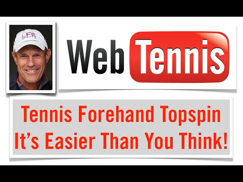 Tennis Forehand Topspin