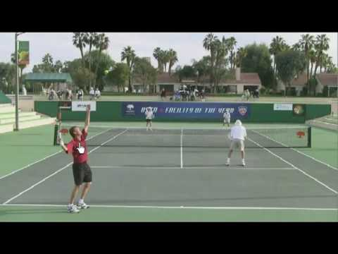 Tennis 2nd Serve – Keeping The Eyes Up Through Contact