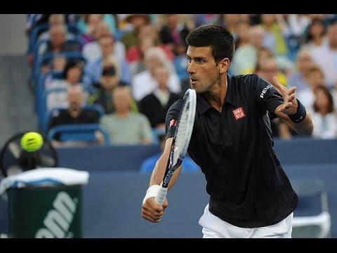 Novak Djokovic vs Tommy Robredo Highlights    Cincinnati Open 2014