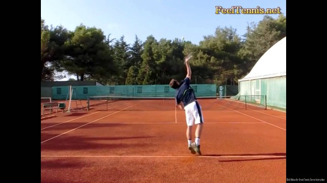 Perfecting Your Tennis Serve Toss for topspin, slice, and flat serves