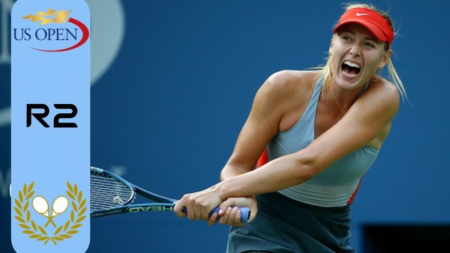 Maria Sharapova vs Alexandra Dulgheru ~ Highlights ~ US Open 2014 (R2)