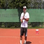 Tennis Serve Tip: Bounce the ball with a continental grip!