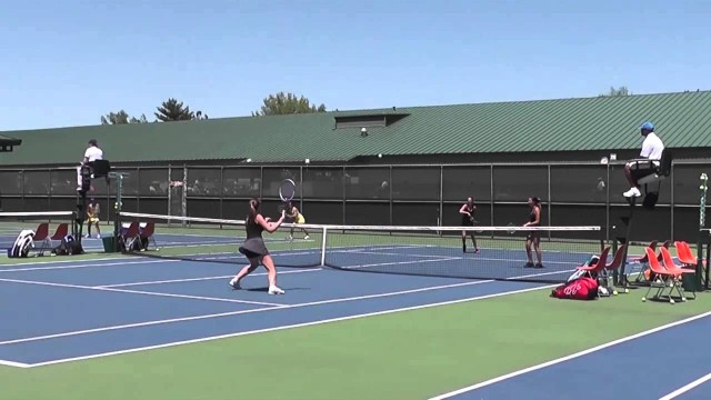 2014 Division 1 Girls Tennis State Final Highlights on Sideline Review